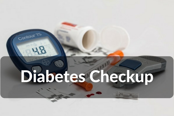 Diabetes Screening Advance  Rs.2250